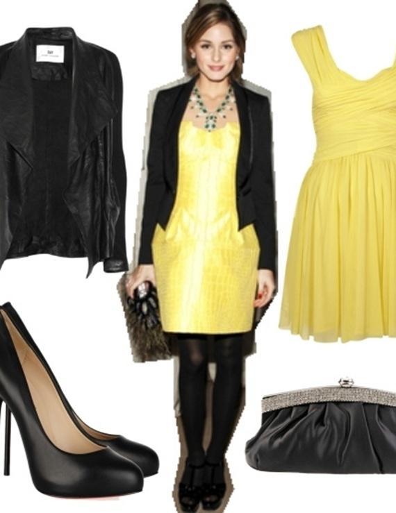 Váy tông vàng mùa thu 4