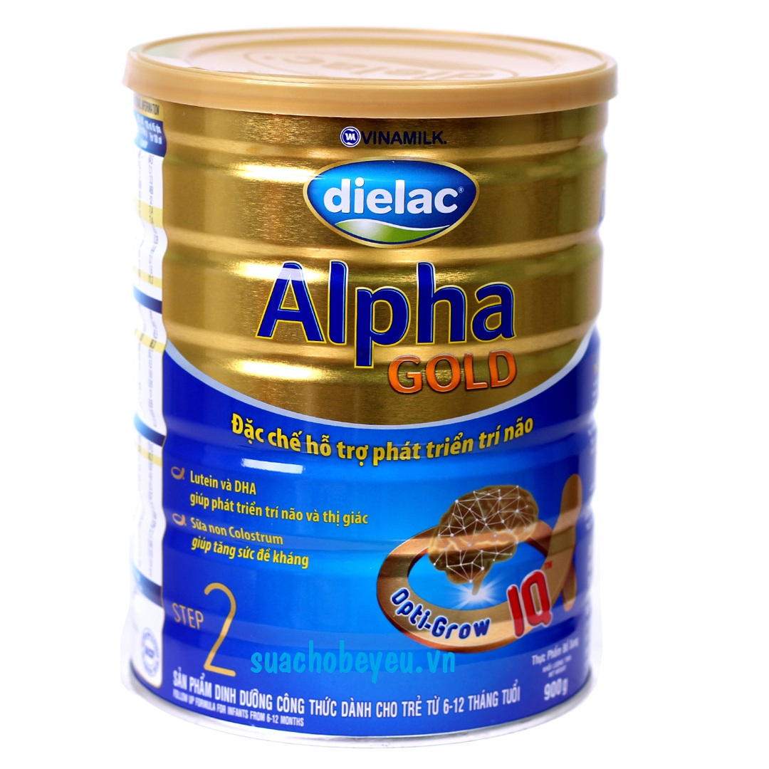 sữa dielac alpha gold step 2