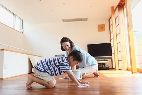 Bảo quản sàn gỗ 01