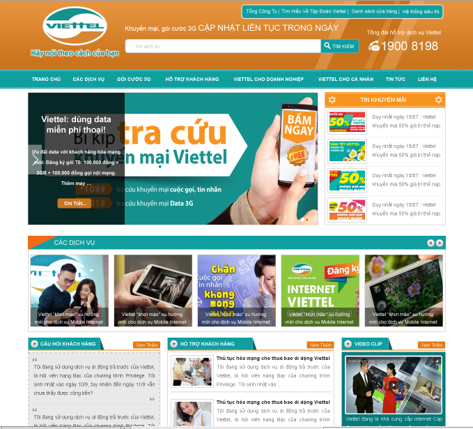 Mẫu web dịch vụ 19