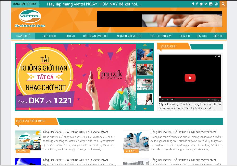 Mẫu web dịch vụ 20