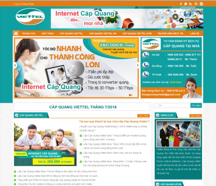 Mẫu web dịch vụ 18