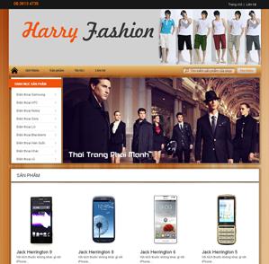 Mẫu web thời trang 15