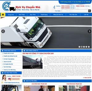 Mẫu web dịch vụ 05