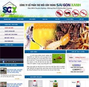 Mẫu web dịch vụ 08