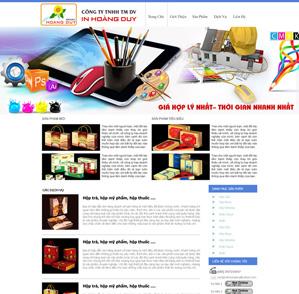 Mẫu web dịch vụ 12