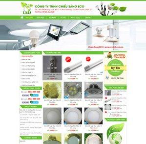 Mẫu web Điện tử 04