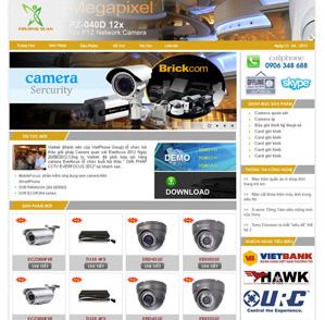 Mẫu web Điện tử 05