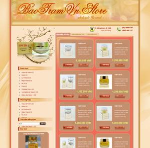 Mẫu web thời trang 04